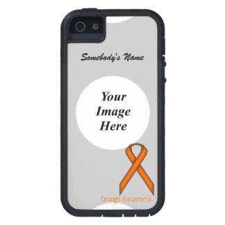 Orange Standard Ribbon by Kenneth Yoncich iPhone SE/5/5s Case
