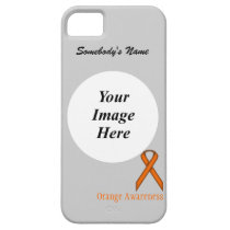 Orange Standard Ribbon by Kenneth Yoncich iPhone SE/5/5s Case
