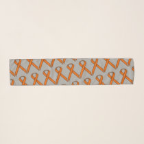 Orange Standard Ribbon by Kenneth Yoncich Scarf