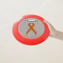 Orange Standard Ribbon by Kenneth Yoncich Wham-O Frisbee