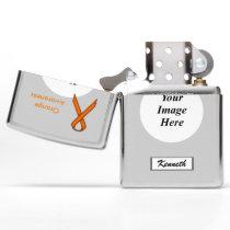 Orange Standard Ribbon by Kenneth Yoncich Zippo Lighter