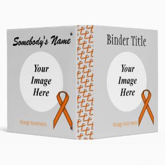 Orange Standard Ribbon Template Binder