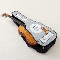 Orange Standard Ribbon Template by Kenneth Yoncich Guitar Case