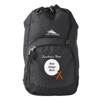 Orange Standard Ribbon Template High Sierra Backpack