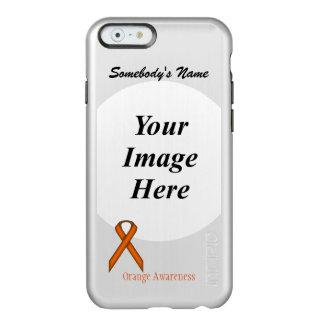 Orange Standard Ribbon Template Incipio Feather Shine iPhone 6 Case