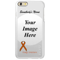 Orange Standard Ribbon Template Incipio Feather Shine iPhone 6 Plus Case