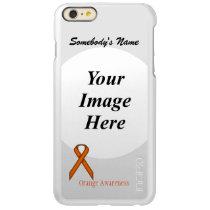 Orange Standard Ribbon Template Incipio Feather Shine iPhone 6 Plus Case