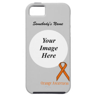 Orange Standard Ribbon Template iPhone SE/5/5s Case