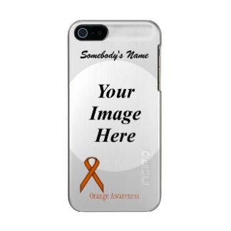 Orange Standard Ribbon Template Metallic iPhone SE/5/5s Case