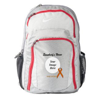 Orange Standard Ribbon Template Nike Backpack