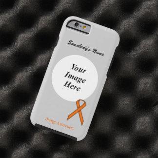 Orange Standard Ribbon Tmpl by Kenneth Yoncich Tough iPhone 6 Case