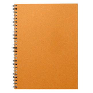 Orange Star Dust Notebook