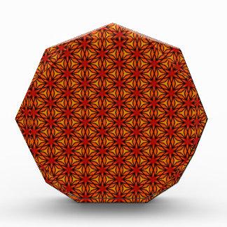Orange Star Pattern Award