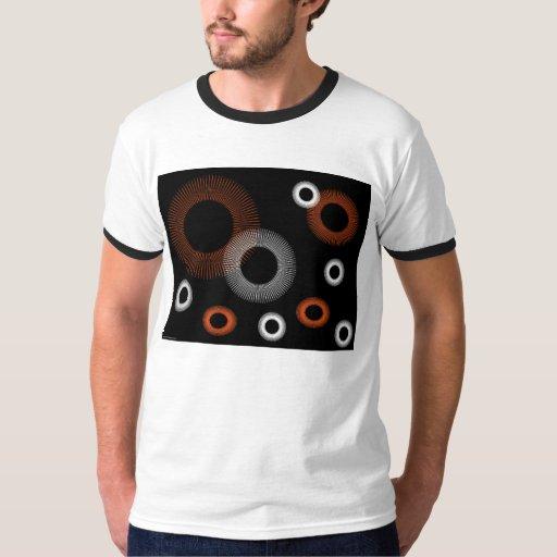Orange Starburst T Shirt