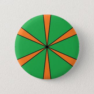 orange starbursts button