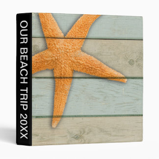 Orange Starfish Binder