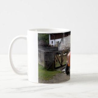 Orange Steyr Tractor KL II Coffee Mug