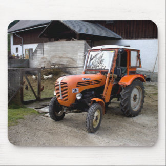 Orange Steyr Tractor KL II Mouse Pad