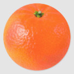 Orange Sticker