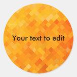 orange stickers