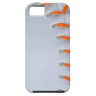 Orange Stitches Softball / Baseball iPhone SE/5/5s Case