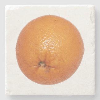 Orange Stone Coaster