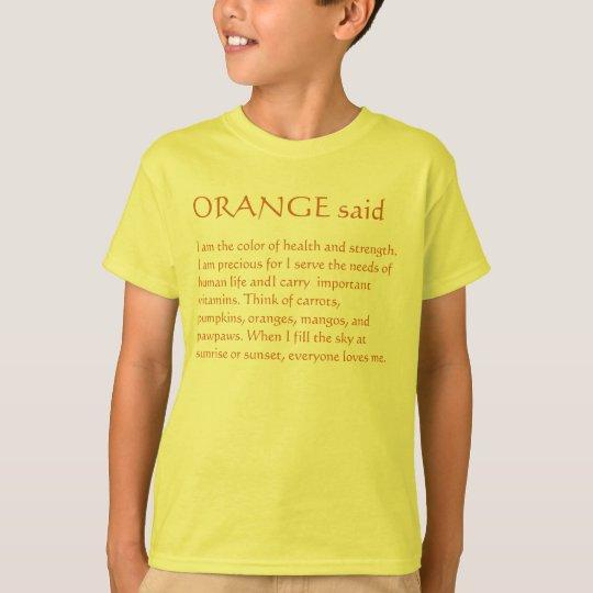 ORANGE story T-Shirt