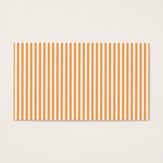 orange striped business card