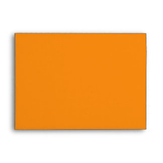 Orange Striped Envelope for Greeting Cards