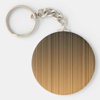 Orange Striped Keychain