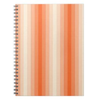 Orange Stripes Journal