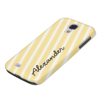 Orange Stripes Pattern HTC Vivid Cell Phone Case Samsung Galaxy S4 Cases