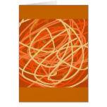 orange stuff card
