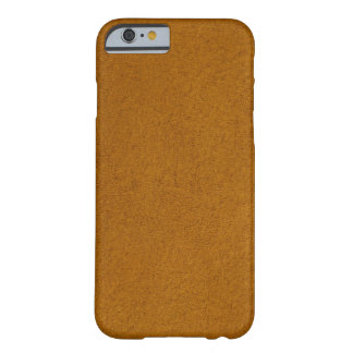 Orange suede barely there iPhone 6 case