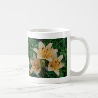 Orange Summer Lilies Coffee Mug