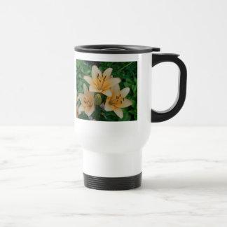 Orange Summer Lilies Travel Mug