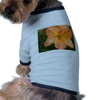 Orange Summer Lilly Dog T-shirt