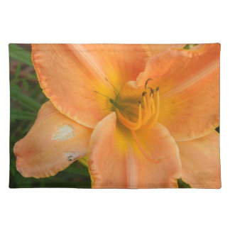Orange Summer Lilly Placemat