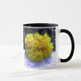 Orange Sun Coral Mug