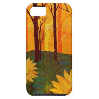 Orange Sun Flowers iPhone SE/5/5s Case