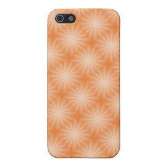 Orange Sunburst for the 4 Case For iPhone 5