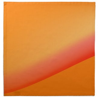 Orange Sunrise American MoJo Napkin