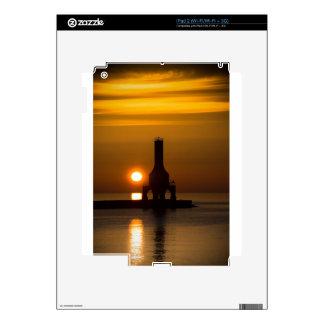 Orange Sunrise iPad 2 Decals