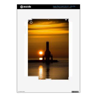 Orange Sunrise iPad 3 Skin