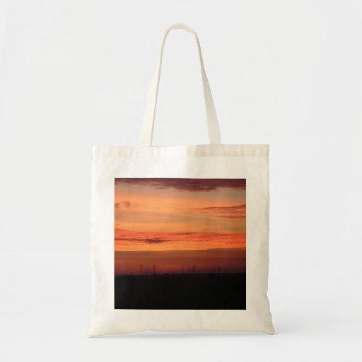 Orange Sunset Bag