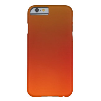 Orange Sunset Barely There iPhone 6 Case