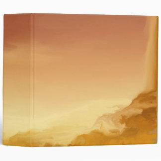 Orange Sunset Binder