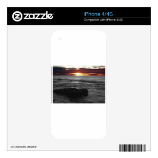 Orange Sunset Decal For The iPhone 4