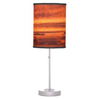 Orange Sunset Desk Lamp