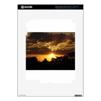 Orange Sunset iPad 3 Skin